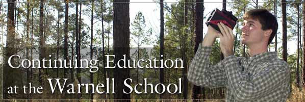Continuing Education at the Warnell School
